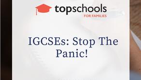 Malaysia: IGCSEs: Stop The Panic!