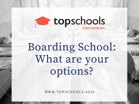 Boarding School: What are your options?