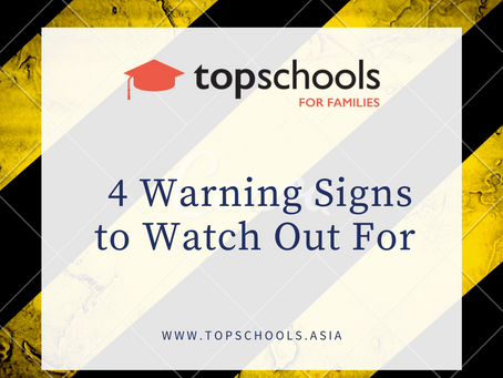4 Warning Signs to Watch Out For