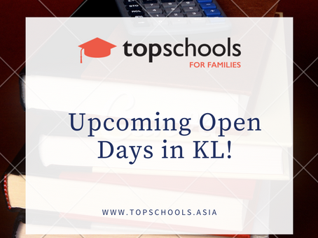 Upcoming Open Days in KL!