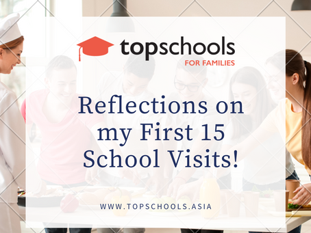 Reflections on our First 15 School Visits!