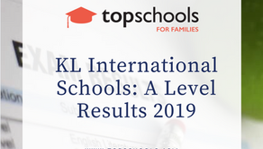 KL International Schools: A Level Results 2019