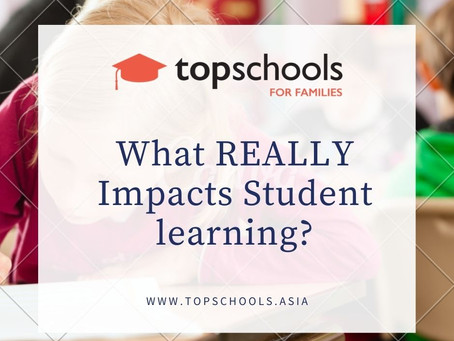 What REALLY Impacts Student learning?