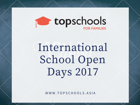 International School Open Days 2017