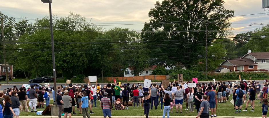 Community converges on Northwood in support of Black Lives Matter protests
