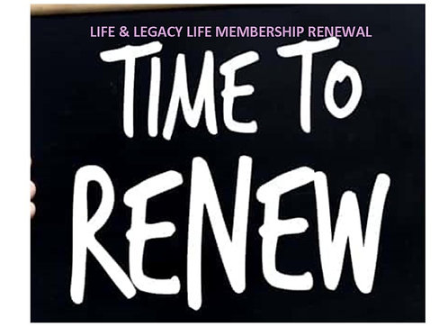 Life & Legacy Life Membership Renewal