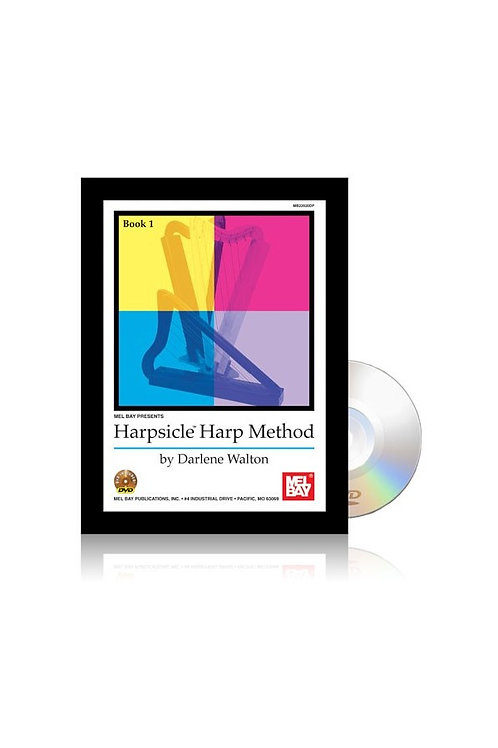Book & DVD - Harpsicle® Harp Method Book with DVD