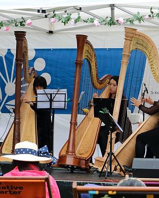 Te Anahera Harp Ensemble과 Parnell Festiv