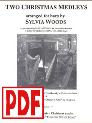 2 Christmas Medleys by Sylvia Woods PDF Download