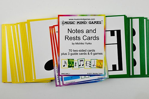 Notes and Rests Cards