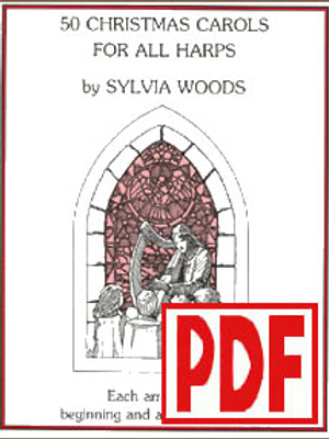50 Christmas Carols by Sylvia Woods PDF Download