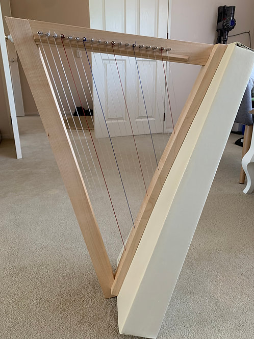 Waring Harp 19st - French Vanilla  (Frame - Matte Finish)