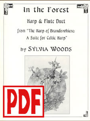 In the Forest for harp and flute by Sylvia Woods PDF