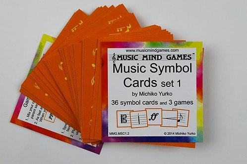Music Symbol Cards - Set 1