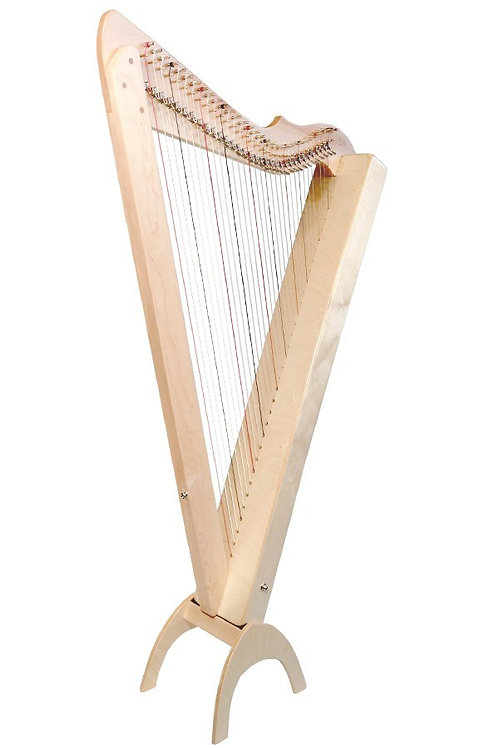 [Used] Grand Harpsicle Harp 33st Natural Maple & BAG