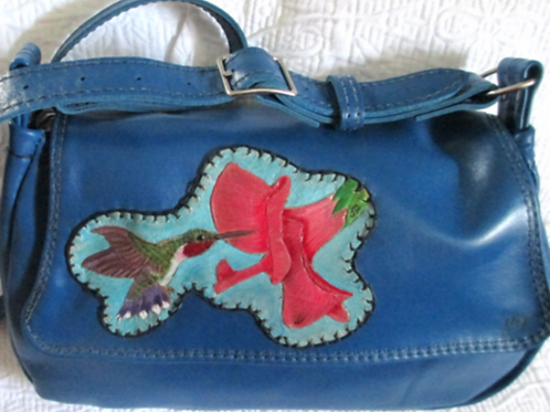 Medium Sized Purse with Bird