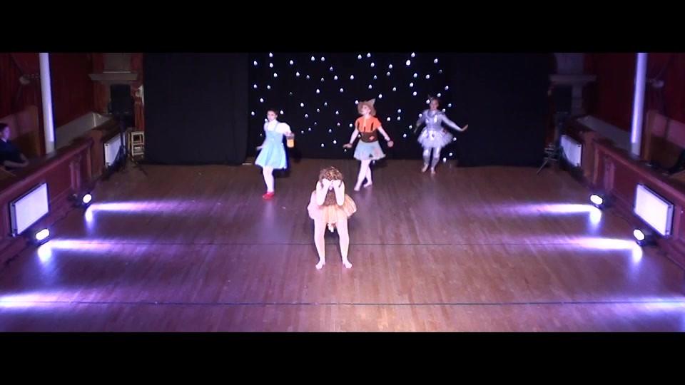 Dansarena Studios Ayr Show 5 clip