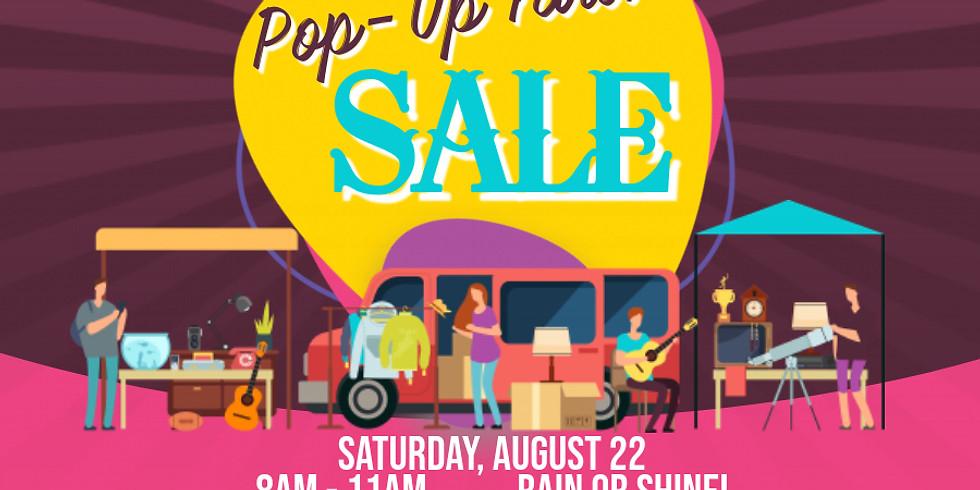 Pop-Up Yard Sale!