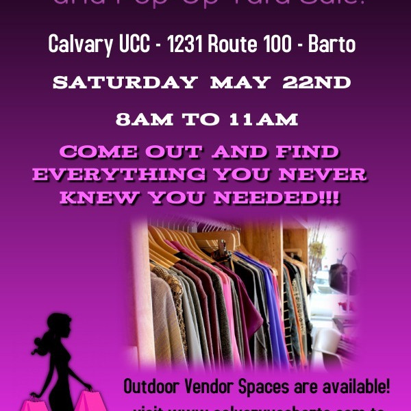 25 cent Sale & Pop Up Yard Sale!