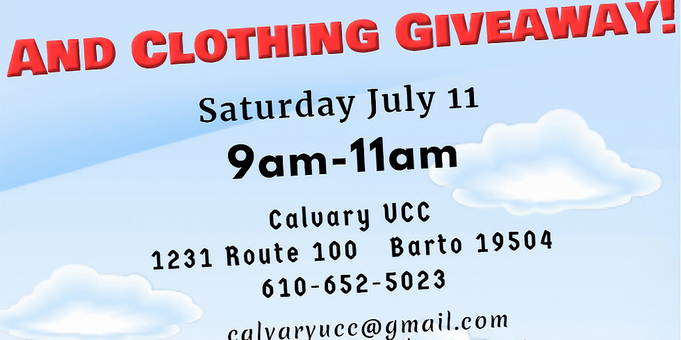 """FREE Community """"To-Go"""" Lunch & Clothing Giveaway!"""