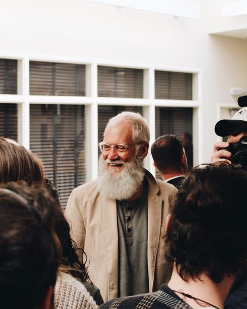 David Letterman 2018