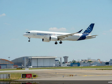 New Airbus A220 allowed to fly across the ocean