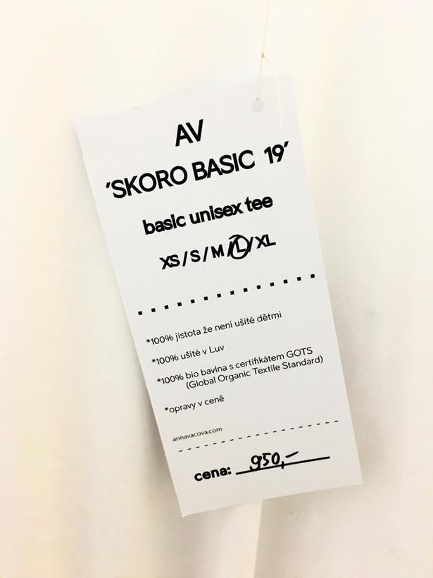 AV 'Skoro Basic 19' L - Organická bavlna GOTS 950czk