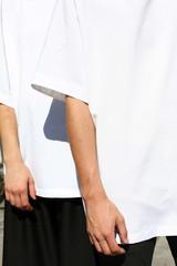 bílé Unisex triko M_L
