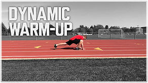 Simple Speed Coach Dynamic Warm Up