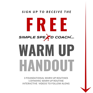 Download Free Simple Speed Coach Warm Up