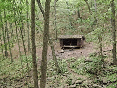 Day 42: Maupin Field Shelter to Rockfish Gap (21.1 miles)