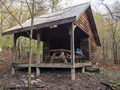 Day 33: Sarver Hollow Shelter to Pickle Branch Shelter (15.9 miles)