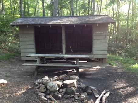 Day 32: War Spur Shelter to Sarver Hollow Shelter (12.2 miles)