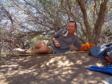 Day 5: Scissors Crossing to Barrel Springs (23.7 miles)
