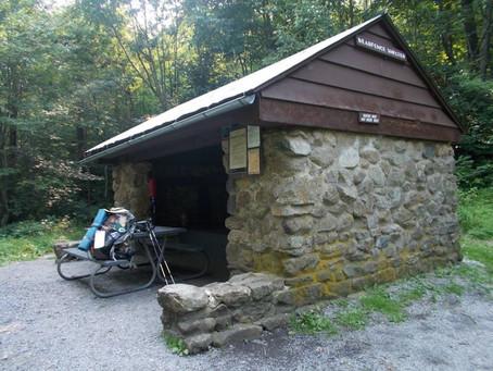 Day 46: Bearfence Mountain Hut to Pass Mountain Hut (26.8 miles)