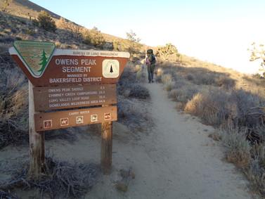 Day 30: Walker Pass to CS654 (3.0 miles - 654.2)
