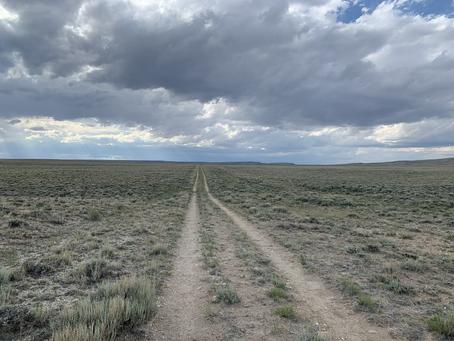 Day 57 - felt like I was back in the desert (38.2 miles)