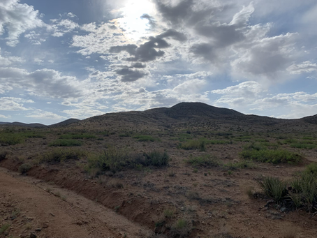 Day 5 - Out of the desert but for how long (23.0 miles)