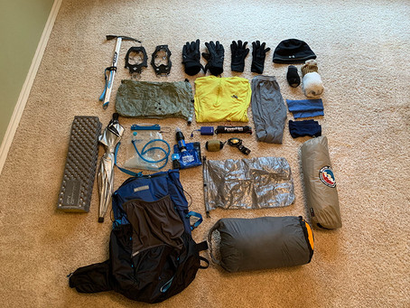 Hike Status and Gear List