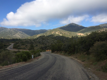 Day 8: CS144 to Hurkey Creek CG (29.2 miles)