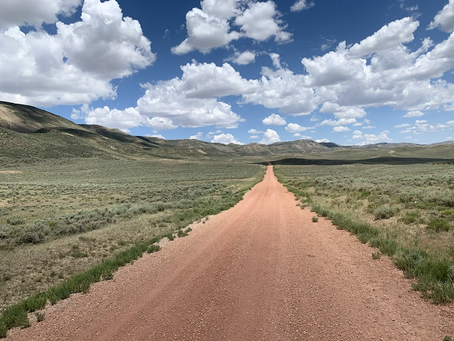Day 55 - enter the Great Divide Basin (41.0 miles)