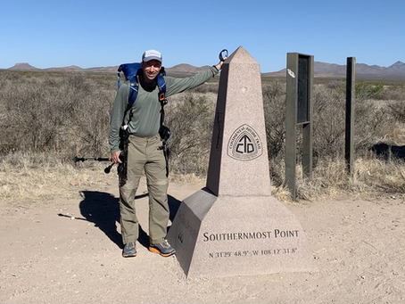 Day 1 - Southern Terminus (16.7 miles)