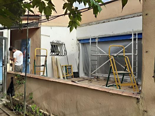 preparation chantier véranda tourves