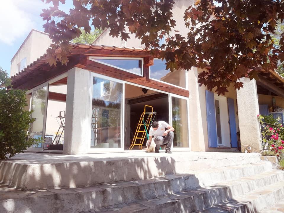 Véranda Chambre d'Hote L'orée du bois st Maximin 83470