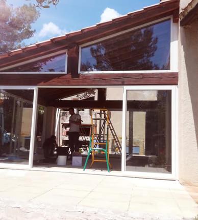 Véranda en cours d'Installation 83470 st maximin