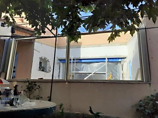 preparation installation veranda 83470
