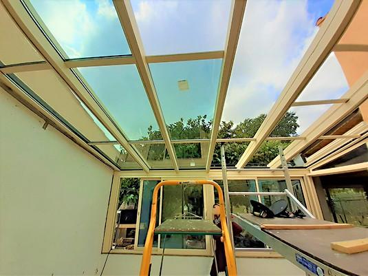 véranda toiture verre tourves