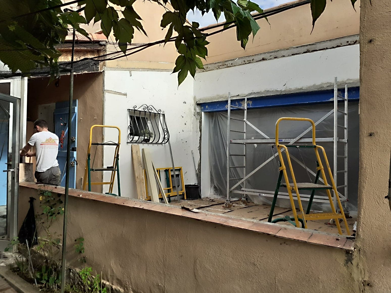 demontage veranda Tourves