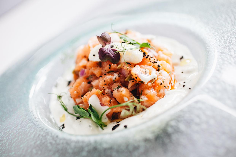 Вкусный Тартар из лосося