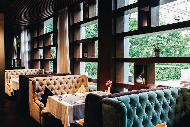 Уютный ресторан на Кутузовском